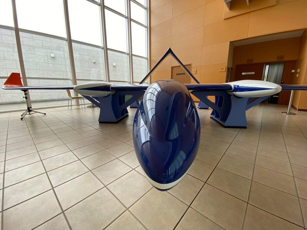 固定翼型ドローン(8m)②